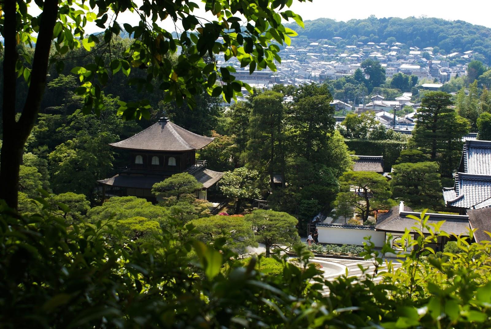 ginkaku ji pavillon argent kyoto japon japan