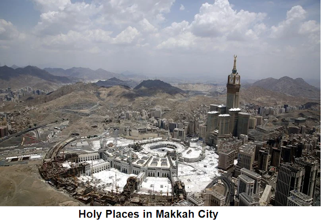 Holy Places in Makkah City.