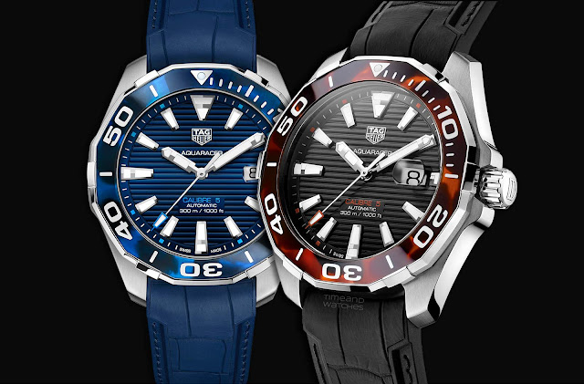 TAG Heuer Aquaracer 43 mm Tortoise Shell Effect Calibre 5 Automatic