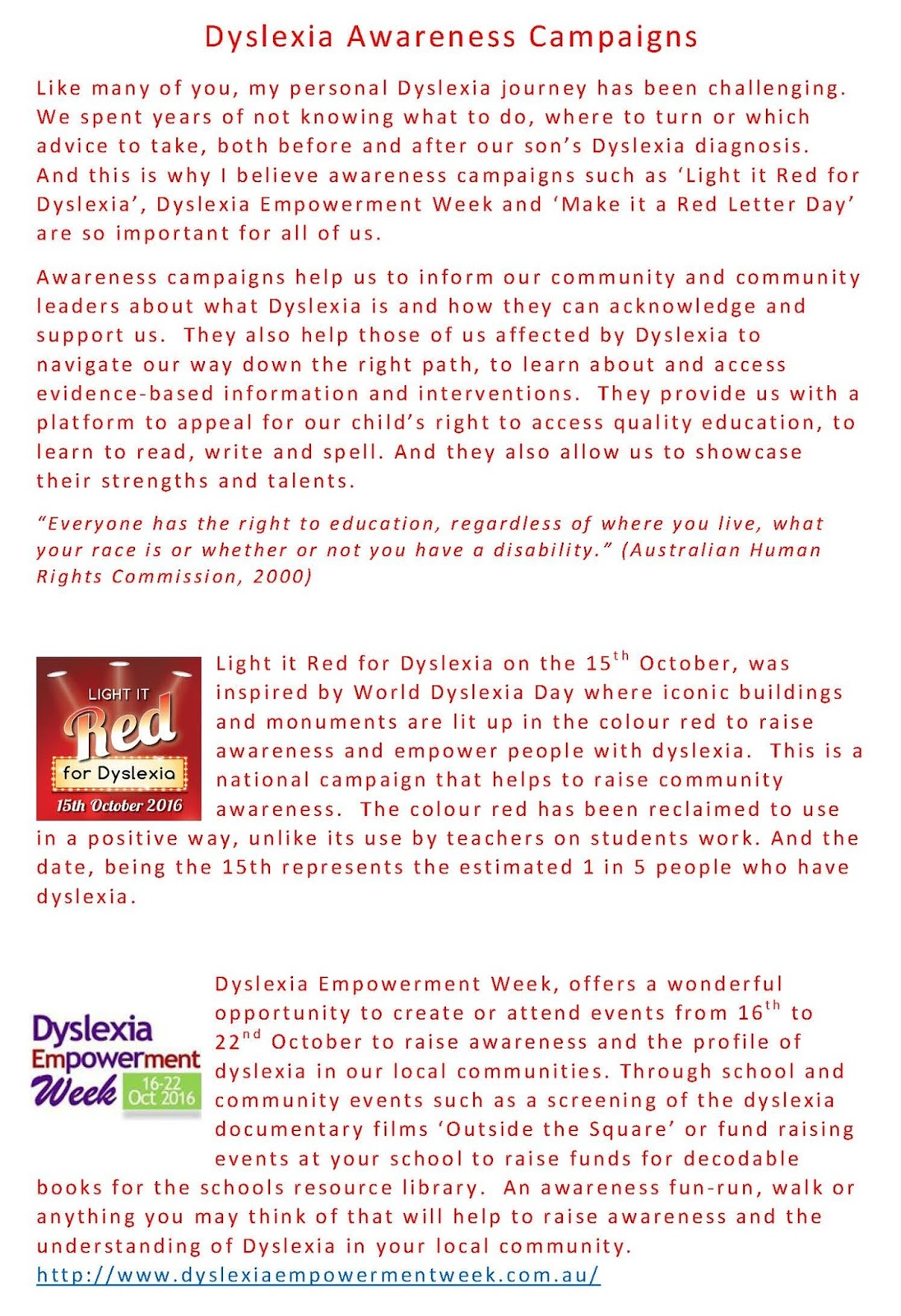 Dyslexia Awareness Campaign Upcoming >> Meet The Team Jen Cross My Red Letter