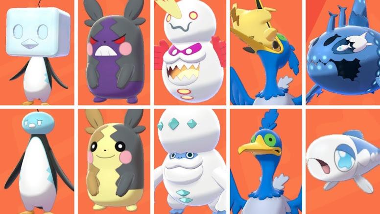 Novas Formas Pokémon Sword e Shield