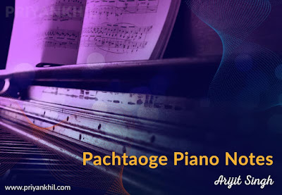 Pachtaoge Piano Notes