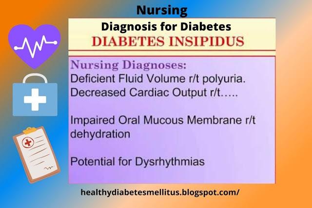 Nursing Diagnosis for Diabetes