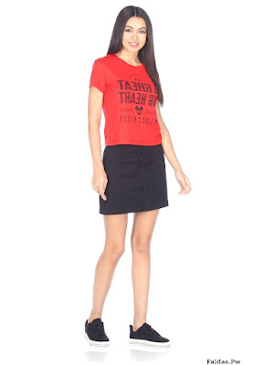 Faldas con Tenis