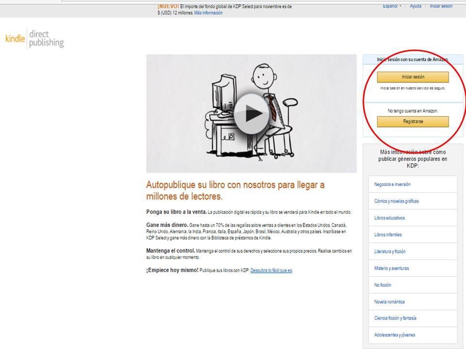 Te dejo 5 pasos para publicar con KINDLE DIRECT PUBLISHING (KDP)