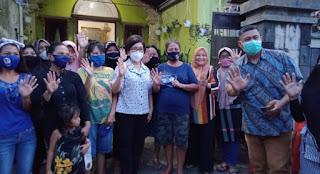 JPAR - Ai Berkunjung ke Kelurahan Sindulang, Warga : Lanjutkan Program Cerdas