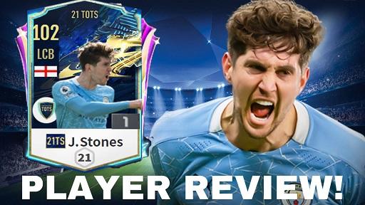 FIFA ONLINE 4 | Review John Stones 21 TOTS - Chuyên gia cắt bóng