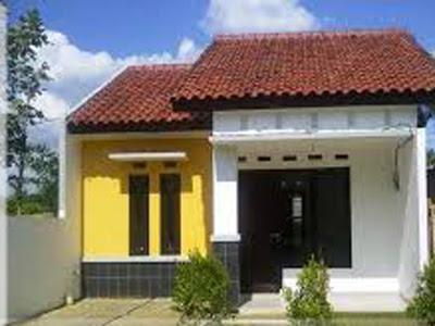 contoh warna cat rumah bagian dengan batu alam