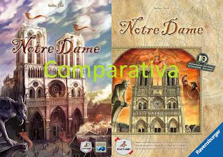 Notre Dame (comparativa ediciones) El club del dado Image