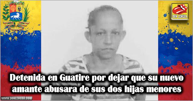 Detenida en Guatire por dejar que su nuevo amante abusara de sus dos hijas menores