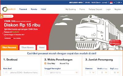 Beberapa Situs Tiket Kereta Api Online (Booking Tiket KAI Online)