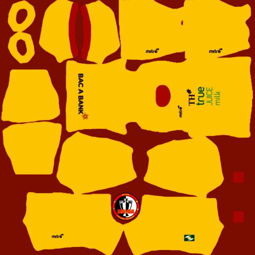 Kits Sông Lam Nghệ An 2021 - Dream League Soccer 2021 - 2021