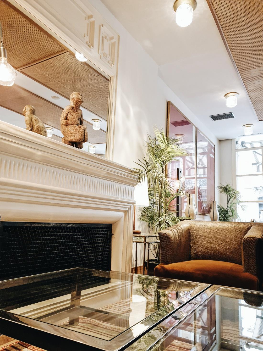 Hotel Pulitzer, Menú Lobby