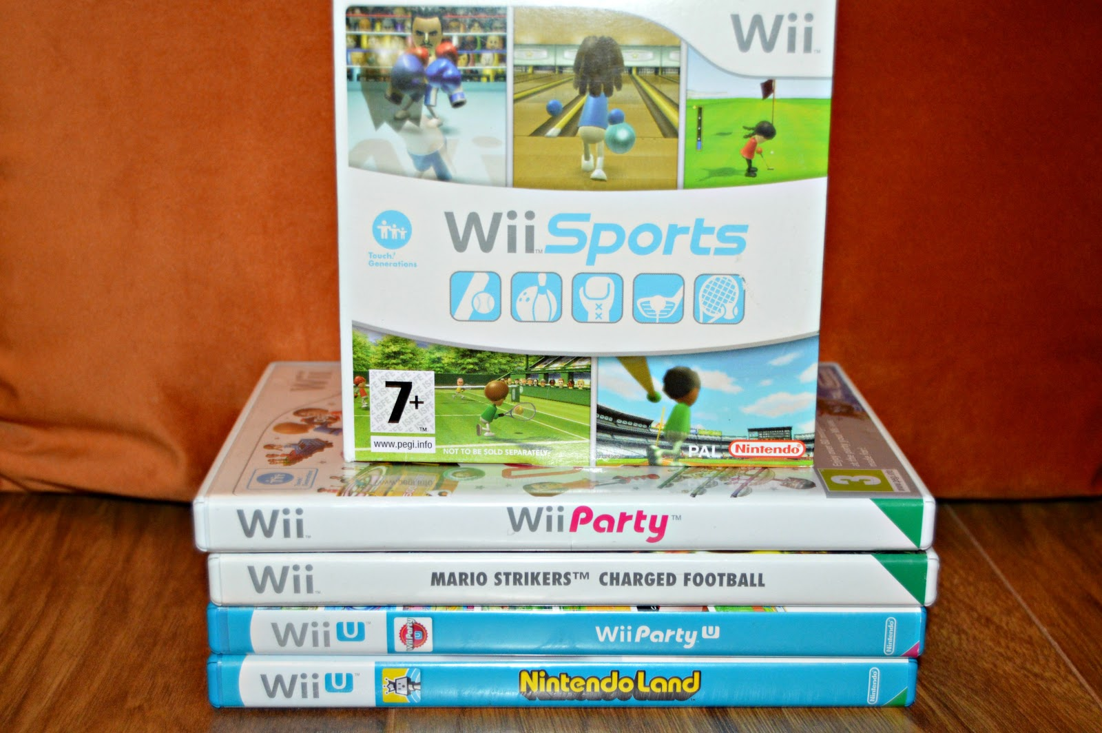 A selection of Wii Games