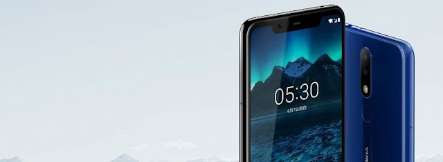 Nokia 5.1 Plus Android 9 Pie