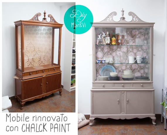 Mobile rinnovato con chalk paint