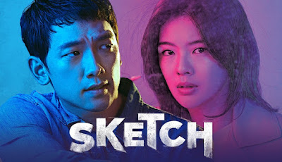 Sketch, Drama Korea Sketch, Korean Drama, Sinopsis Drama Korea Sketch, Cast, Pelakon Drama Korea Sketch, Rain, Lee Sun Bin, Lee Dong Gun, Jung Jin Young, Lee Sung Joo, Lim Hwa Young, Top 15 Drama Korea Terbaik 2018, Top 15 Drama Korea Terbaik 2018 Pilihan Miss Banu, Best Korean Drama 2018, My Korean Drama List, Top 15 Best Korean Drama Of 2018, Review By Miss Banu, Blog Miss Banu Story,