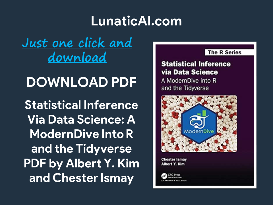 Statistical Inference Via Data Science PDF