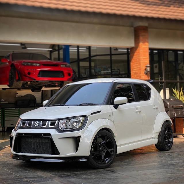 Suzuki New Ignis Ala garasi Drift