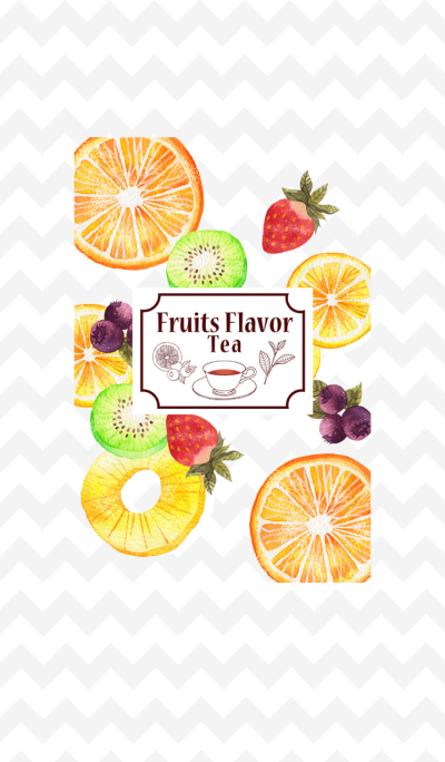 Fruits Flavor tea