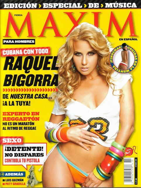 Raquel Bigorra Maxim Octubre 2005