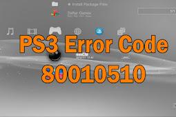 Cara Mengatasi Multiman dan Game Tidak Bisa Dibuka Error Code 80010510 PS3 CFW