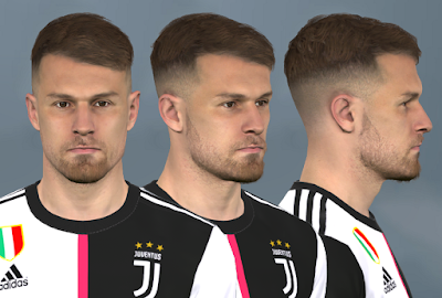 PES 2017 Faces Aaron Ramsey by WER