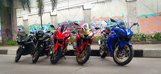 Klub motor Jakarta,klub R15 Jakarta, tempat nongkrong klub motor Jakarta, cara gabung klub motor jakarta