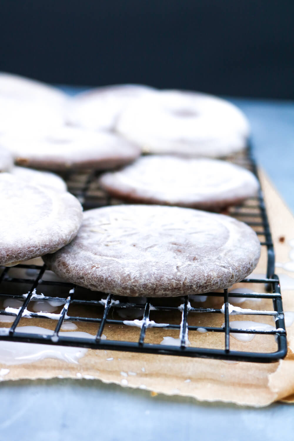 Glazed Speculaas Biscuits | Take Some Whisks