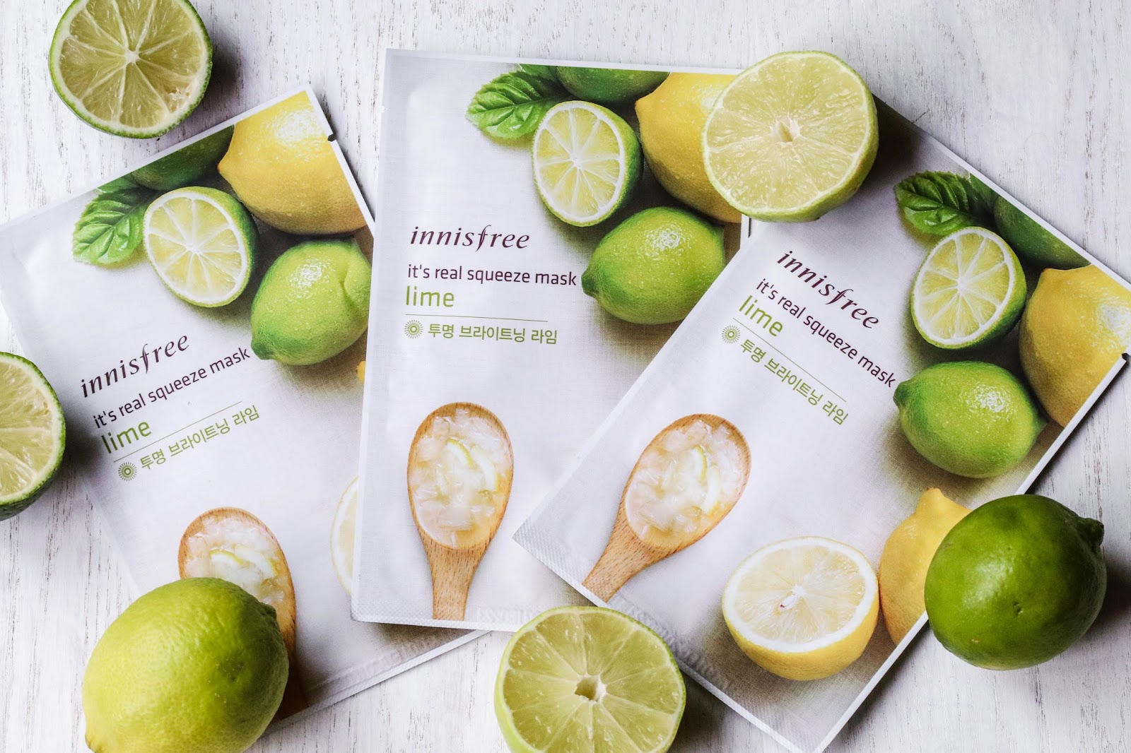 Korean Sheet Masks - Innisfree
