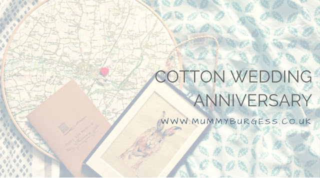 Cotton Wedding Anniversary Gift Ideas Uk : Cotton Wedding Anniversary Gift Ideas Mummy B
