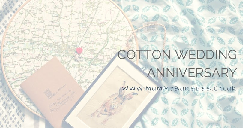 Wedding Anniversary Gift Ideas Cotton : Cotton Wedding Anniversary Gift Ideas Mummy B