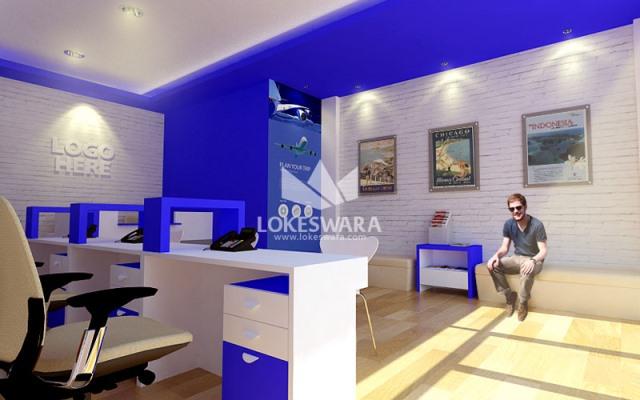 travel agency office design ideas