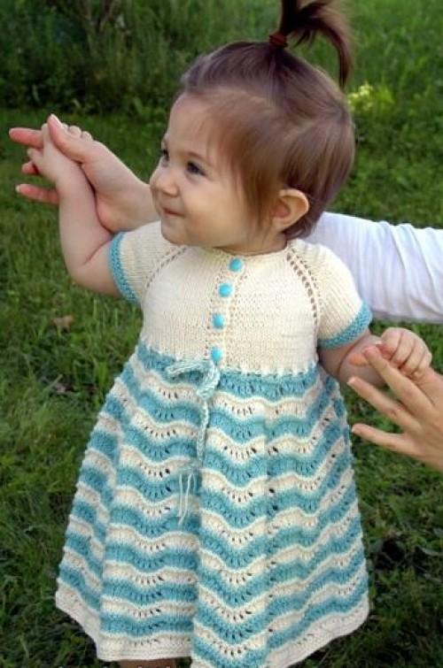 Best Sunday Baby Dress - Free Pattern
