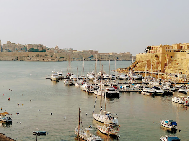 Sincerely Loree: View of Grand Harbour from Birgu