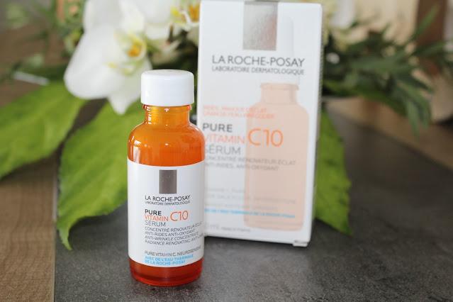 """Un bain de vitamines pour ma peau avec """"Pure Vitamin C10"""" de La Roche Posay"""