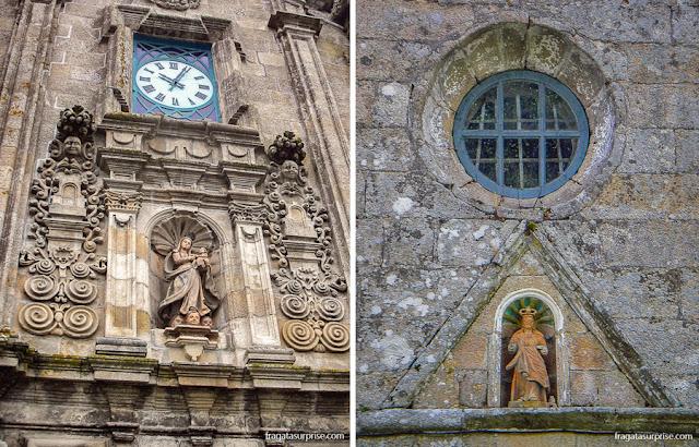 igrejas de de Santa Maria de Carracedo e Nossa Señora da Escravitude, no Caminho de Santiago