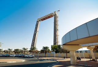The Dubai Frame is placed to spread out, after 4 years in development in November 2017