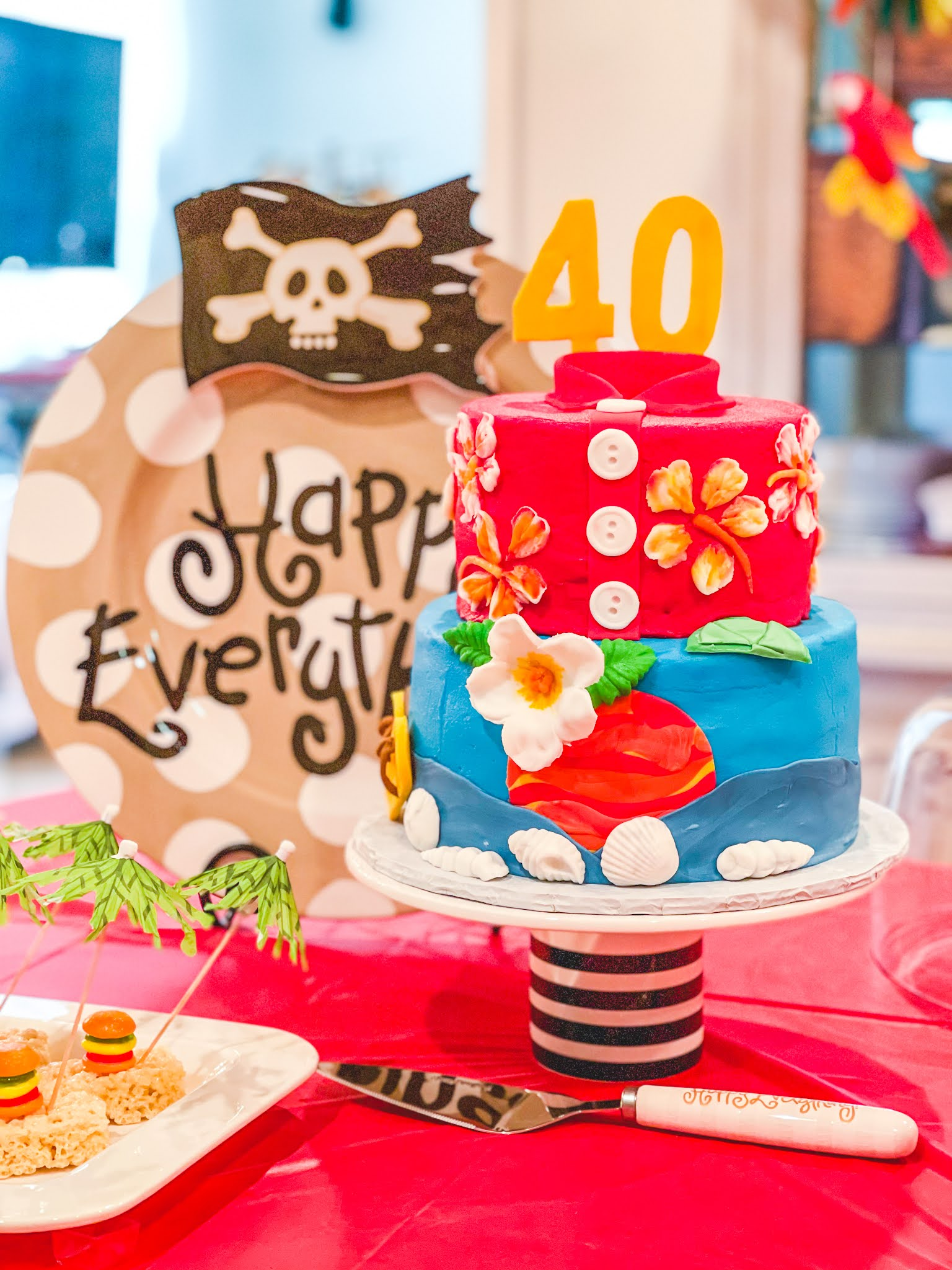 A Pirate Looks At 40: A Jimmy Buffett Inspired Birthday Party