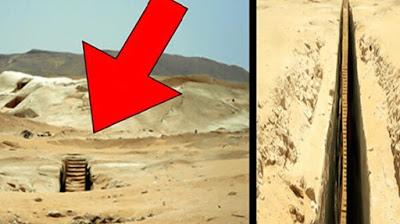 estranha escadaria egipto
