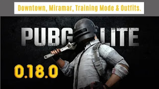 PUBG Mobile Lite 0.18.0 Update Leaks | Downtown, Training Mode, Miramar & Outfits.