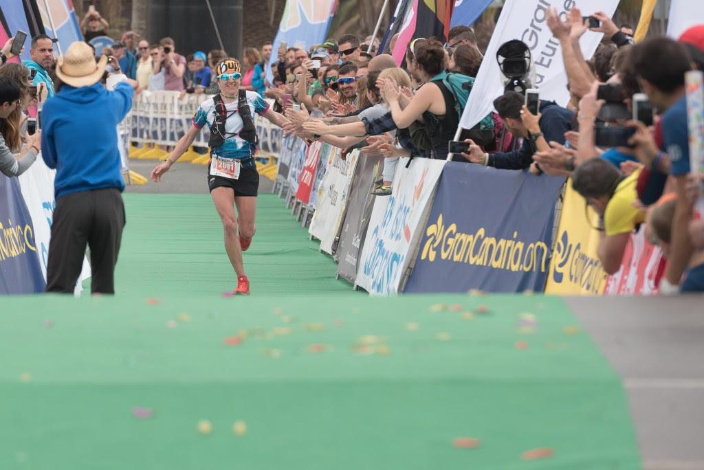 Núria Picas logra la victoria en la Maratón de Transgrancanaria