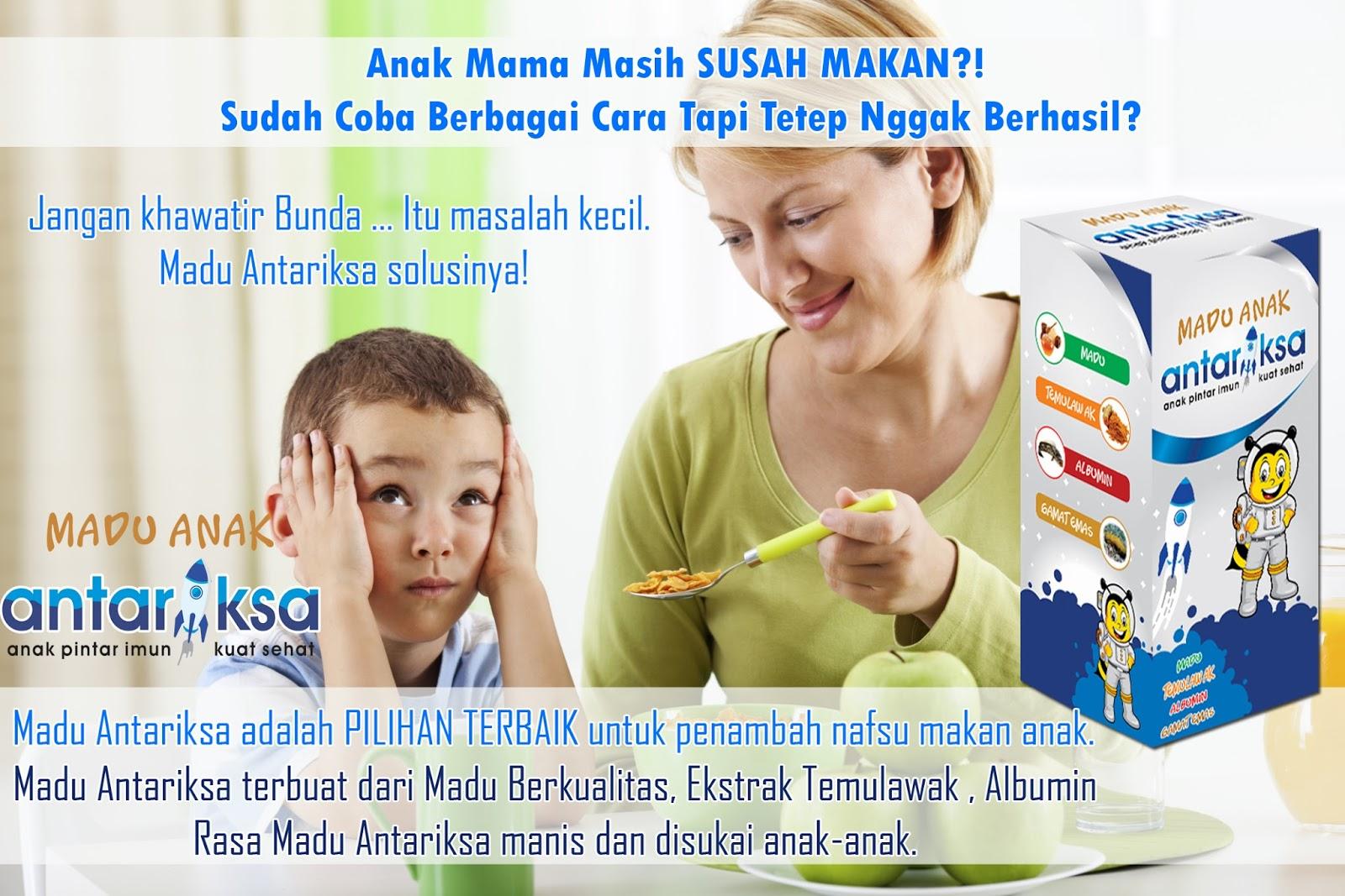solusi cara mengatasi anak susah makan