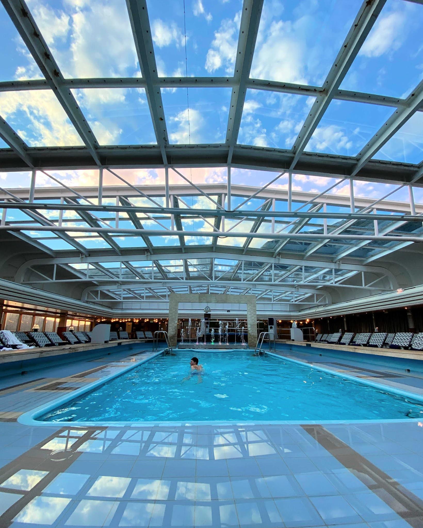 pool on cruise alaska