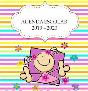 AGENDA ESCOLAR editable FULANITOS 2019-2020