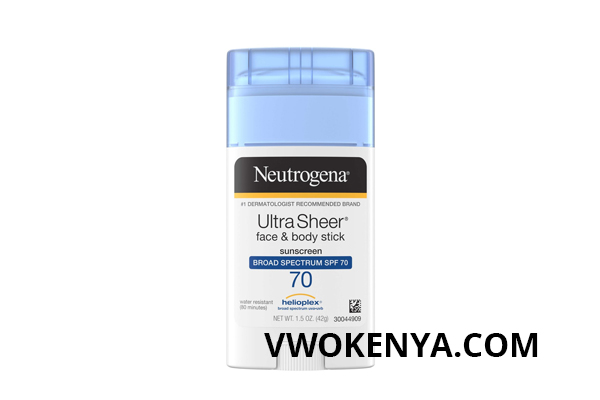 Neutrogena Ultra Sheer Face And Body Stick SPF 70
