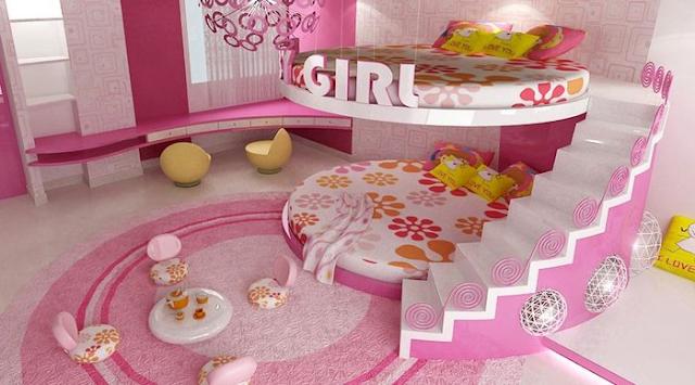 giường tầng dáng tròn lạ mắt