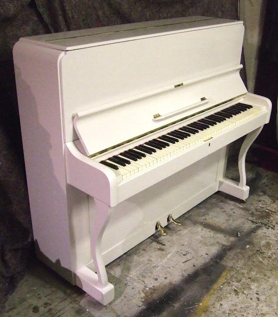 refinish piano Cornwall