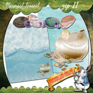 Mermaid Journal freebie zip 11