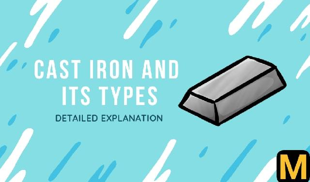 Cast iron and its classification | The Mechanical post